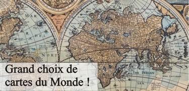 Cartes géograhiques anciennes
