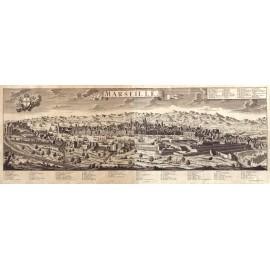 Marseille en 1670 - sous Louis XIV