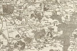 Carte de Cassini 001 - Paris carte ancienne