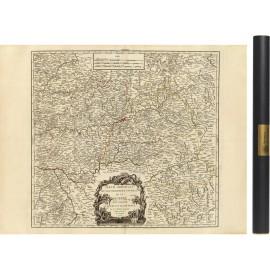 Le Quercy et le Rouergue en 1753