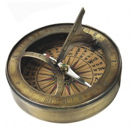 Boussole cadran solaire 18 ème siècle