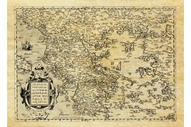 Carte ancienne de la Grèce