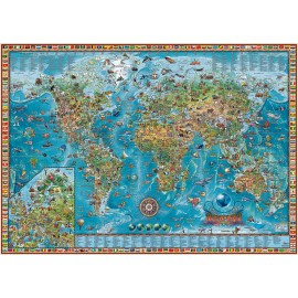 Carte des merveilles du monde !