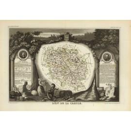 La Creuse en 1856
