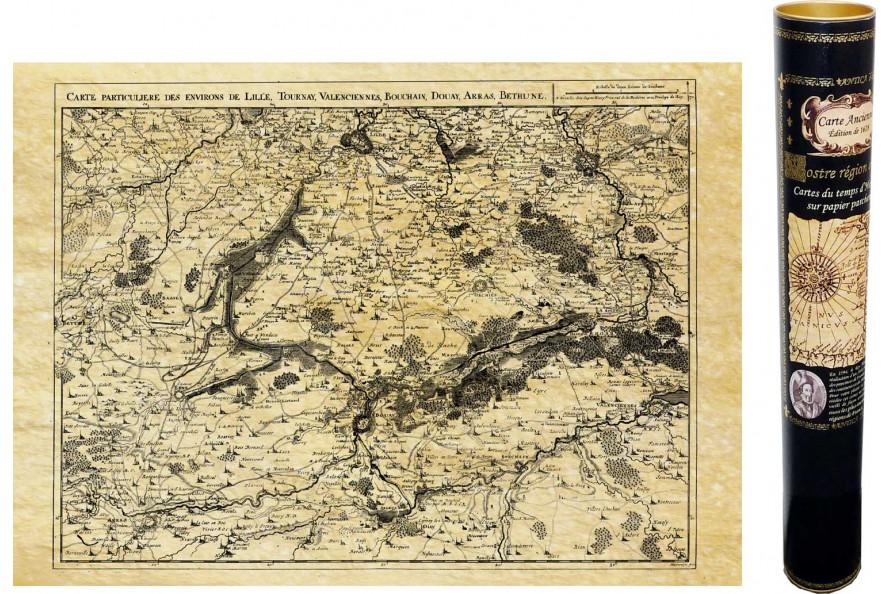 Douai, Arras, Béthune en 1711