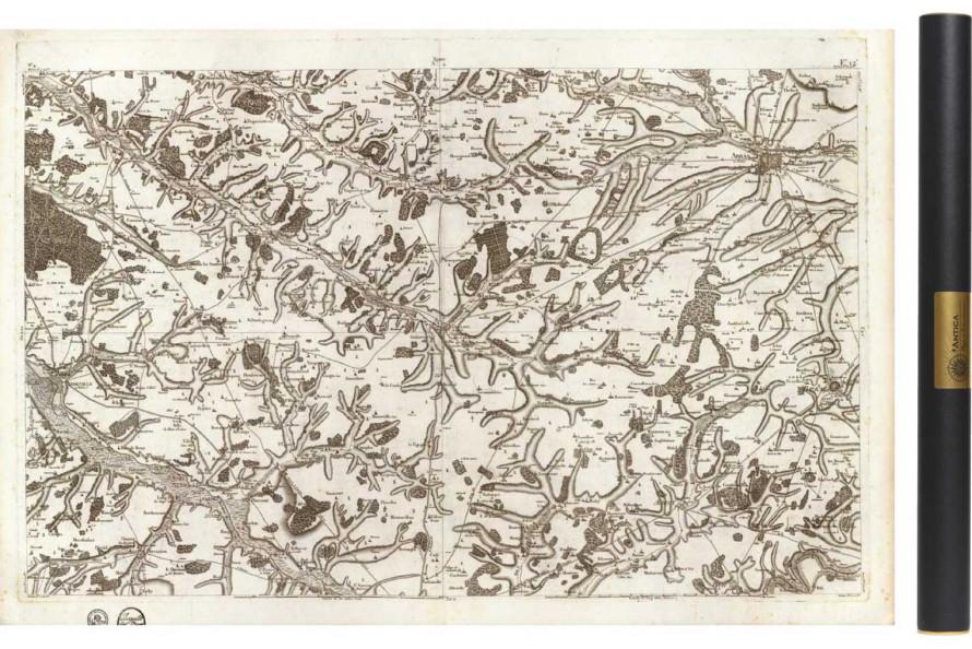 Carte de Cassini 004 - Abbeville