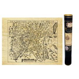 Bresse en 1605