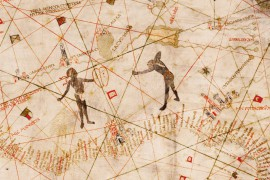 Carte de Christophe Colomb en 1490