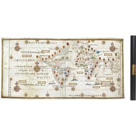 Portulan Portugais Teixeira en 1573
