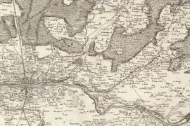 Carte de Cassini 008 - Orléans