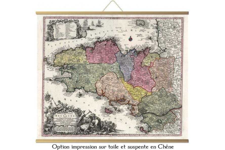 Bretagne en 1740