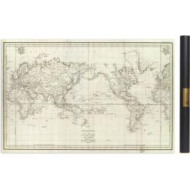 Carte de l'expédition, ou Voyage, de la Pérouse en 1788