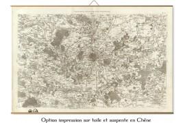Carte de Cassini 001 - Paris