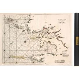 Carte du finistère de 1693