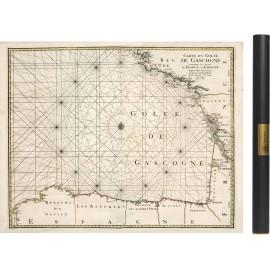 Carte du Golfe de Gascogne de 1693