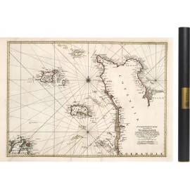 Carte du Cotentin de 1693