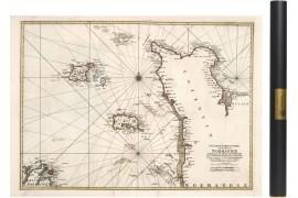 Carte du Cotentin en 1693