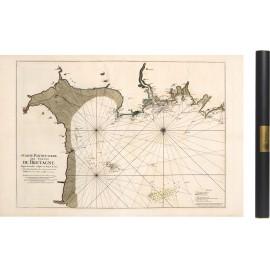 Carte de Granville à Frehel de 1693