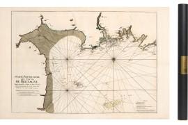 Carte de Granville a Frehel en 1693