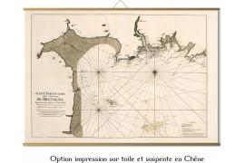 Carte de Saint Malo au cap Frehel en 1693