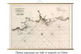 Carte de Trégastel à Guisseny en 1693