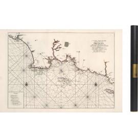 Carte de la baie d'Audierne à L'Ile de Groix en 1693