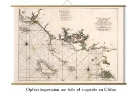 Carte du morbihan en 1693