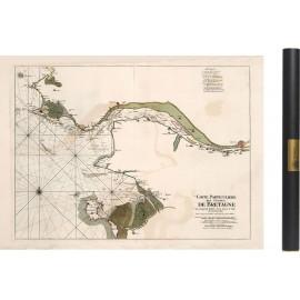 Carte de l'embouchure de la Loire en 1693