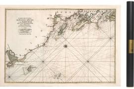 Carte de l'Aunis et la Rochelle en 1693