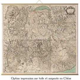 Grande carte du Duché de Savoie en 1693