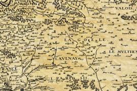 Dauphiné en 1610
