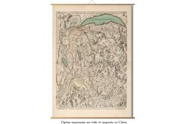 Carte ancienne de Savoie - 1695