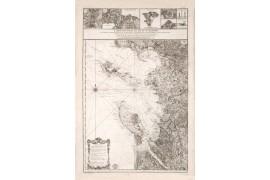 Carte ancienne de l'ile de ré et de l'ile d'Oléron