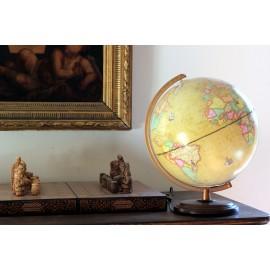 """Globe terrestre luxe """"à l'antique"""""""