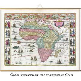 l'Afrique en 1665 par Joan Blaeu