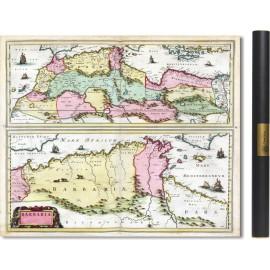 l'Afrique du Nord en 1665 par Joan Blaeu