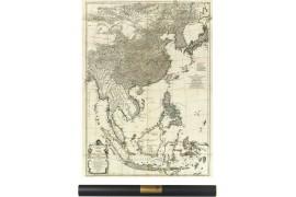 Carte de l'Asie en 1752