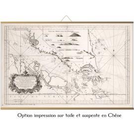 Détroit de Singapour et Malacca en 1755