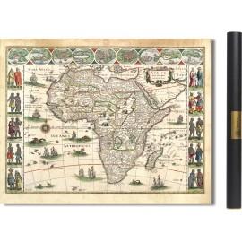 l'Afrique en 1630 par Willem Blaeu