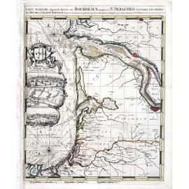 Guyenne et Gascogne en 1693