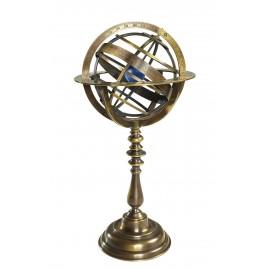 Sphère armillaire en bronze