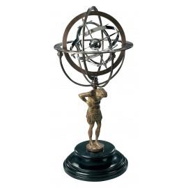 Sphère armillaire Atlas grand format