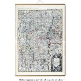 Grande carte du Lyonnois, en 1706