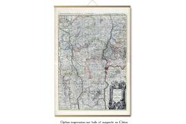Grande carte du Lyonnais en 1706