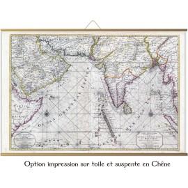 Océan indien en 1708