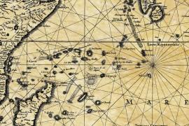 Océan indien en 1650