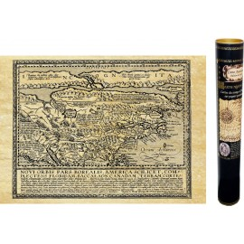 Amériques Nova francia vers 1550