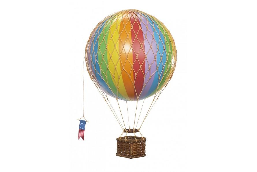 """Ballon montgolfière """"Arc en ciel"""""""