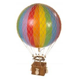 """Grand ballon montgolfière """"Arc en ciel"""""""
