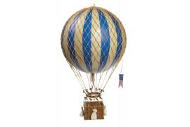 "Grand ballon montgolfière ""Bleu"""